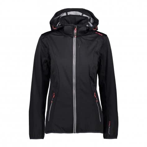 CMP Damen Softshelljacke Woman Zip Hood Jacket 38A5486