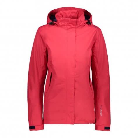 CMP Damen Softshelljacke Woman Zip Hood Jacket 3Z58566-C831 48 Ibisco   48