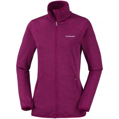 Columbia Damen Sapphire Trail™ Fleece Jacket 1679922-550 XL Wine Berry-Haute Pink | XL