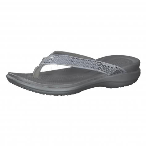 Crocs Damen Zehentrenner Capri V Sequin Flip 204311