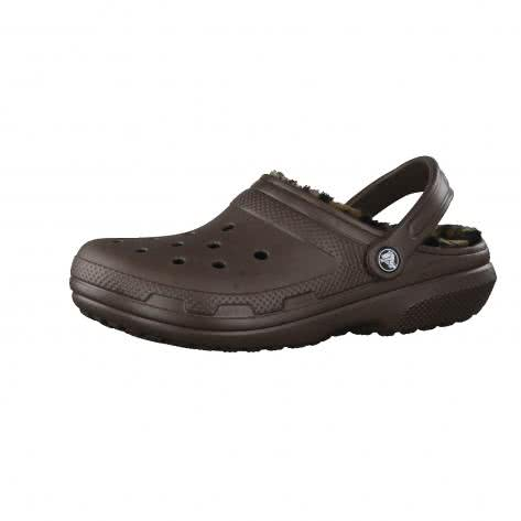 Crocs Damen Schuhe Classic Lined Animal Clog 204650