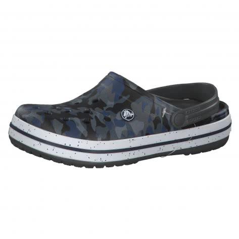 Crocs Sandale Crocband Graphic III Clog 205330 Camo Slate Grey Größe 36 37,38 39,39 40,41 42,42 43,43 44,45 46