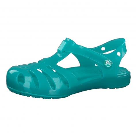 on sale 1f11a 23a8f Crocs Kinder Sandale Isabella PS 204035 Tropical Teal Größe ...