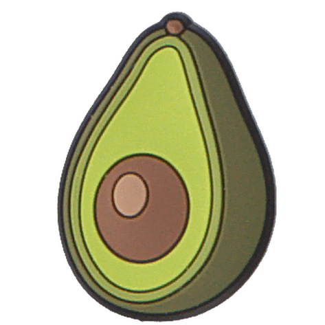 Crocs Jibbitz Anstecker Avocado Größe: One size