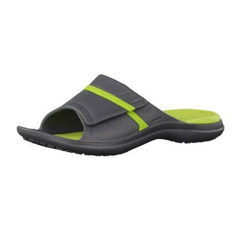 Crocs Herren Sandale MODI Sport Slide 204144 Graphite/Volt Green Größe: 36-37,37-38,38-39,39-40,41-42,42-43,43-44,45-46,46-47,48-49