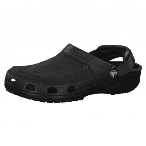 Crocs Herren Schuhe Yukon Vista Clog 205177-060 39-40 Black/Black | 39-40