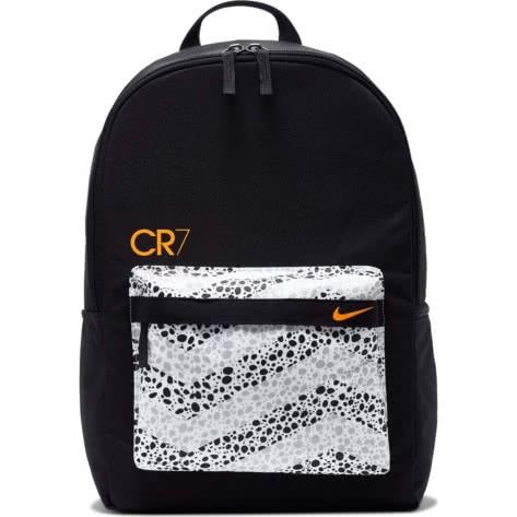 Nike Kinder Rucksack CR7 Soccer Backpack CU1627 010 BlackWhiteTotal Orange | One size |
