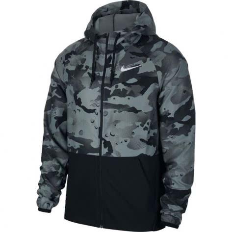 Nike Herren Trainingsjacke Full Zip Camo Jacket CU4042