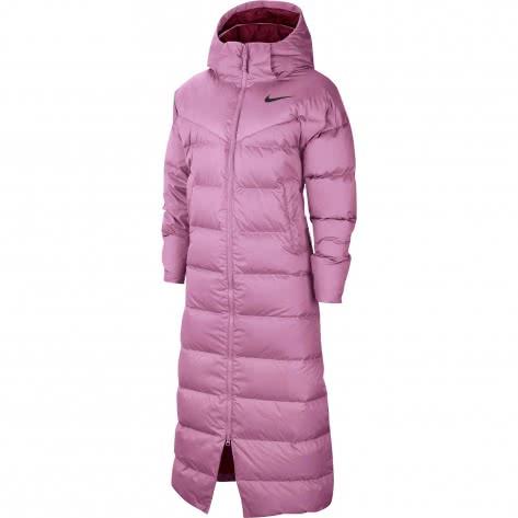 Nike Damen Wintermantel Down Parka CU5820-680 M Beyond Pink/Dark Beetroot/Black   M
