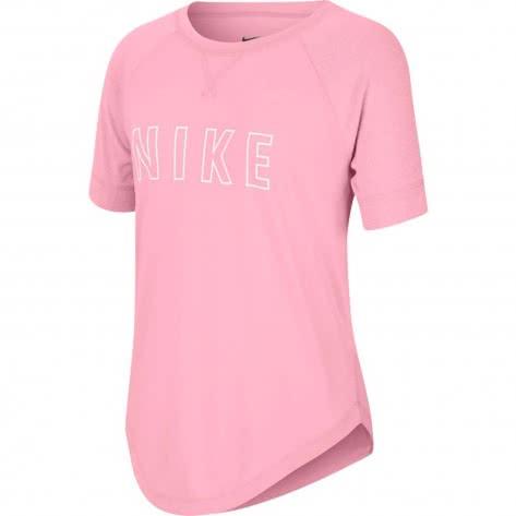 Nike Mädchen Trainingsshirt Trophy Graphic Training Top CU8288