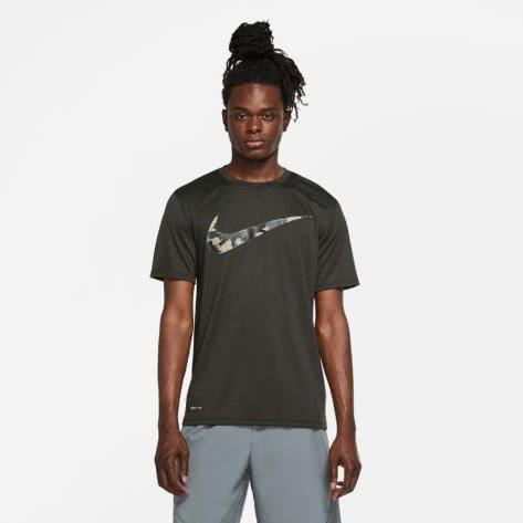 Nike Herren Trainingsshirt Camo Tee CU8498