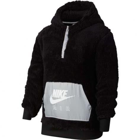 Nike Mädchen  Kapuzenpullover Air Sherpa Half Zip CU8550