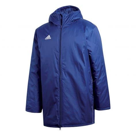Adidas Herren Core 18 Regen Running Jacke Schwarz Blau