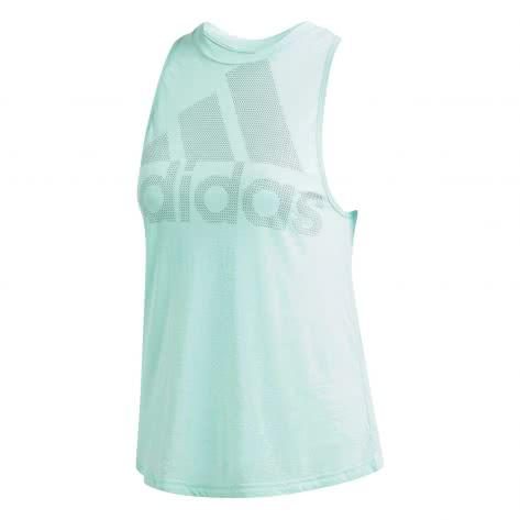 adidas Damen Tank Top Magic Logo CW3854 L clear mint | L