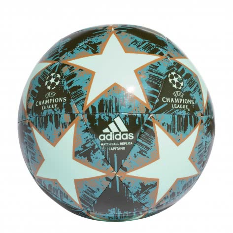 adidas Fussball UCL Finale 18 Capitano CW4129 3 clear mint/night cargo/raw desert/raw green | 3