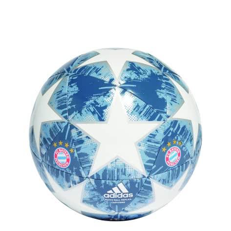 adidas Fussball Finale 18 FC Bayern München Capitano CW4147 3 white/silver met./raw steel s18/utility blue | 3
