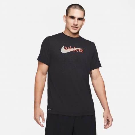 Nike Herren Trainingsshirt Dri-FIT Swoosh Training Tee CW6950