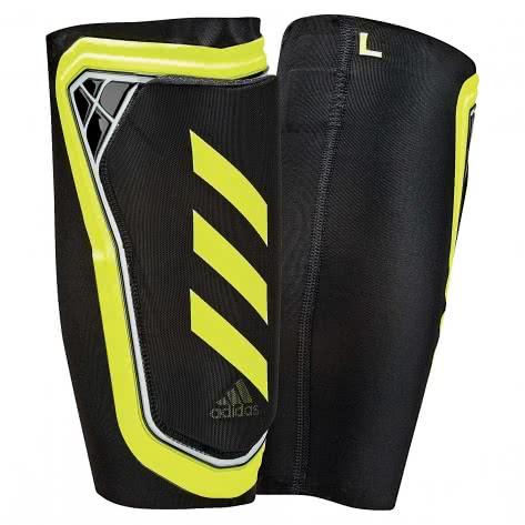 adidas Herren Schienbeinschoner X FOIL black/solar yellow/white Größe: L,M,S