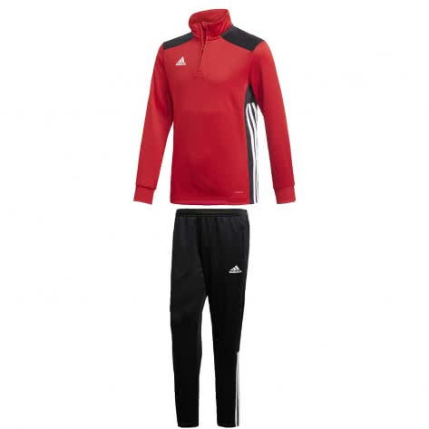 adidas Kinder Trainingsanzug Regista 18 POWRED BLACK Größe 128,140
