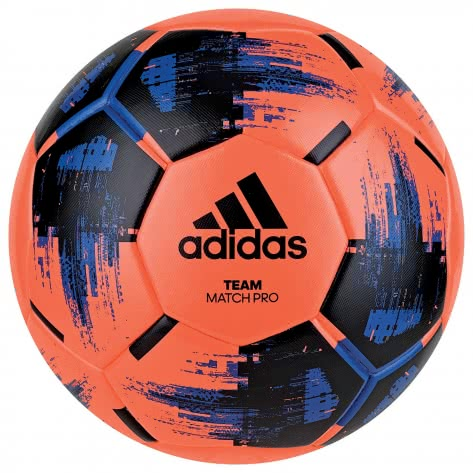 adidas Fussball Team Match Winter CZ9570 5 solar orange/black/blue | 5
