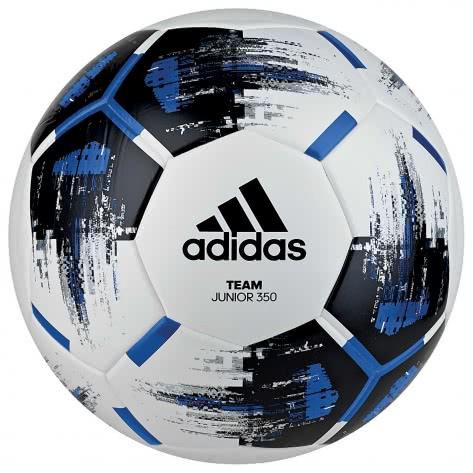 adidas Fussball Team Junior 350 CZ9573 5 white/black/blue/silver met.   5