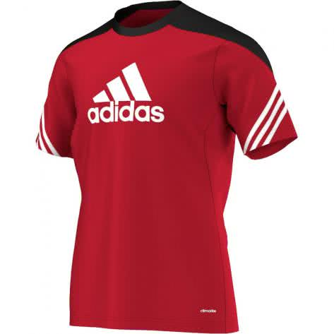 adidas Sereno 14 Training Trikot university red black white Größe 116,128,S,XS,XXXL