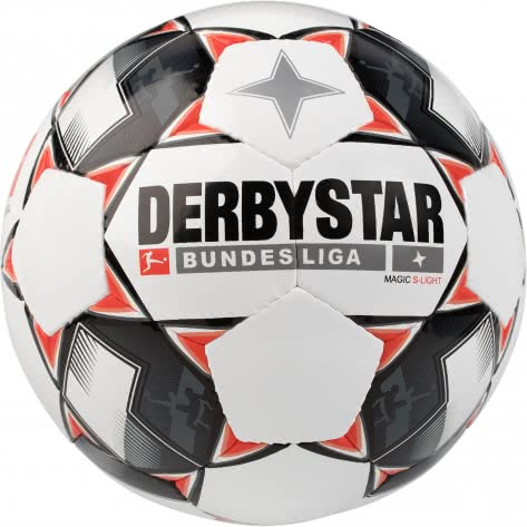 Derbystar Fussball Bundesliga Magic S-Light 18/19 1862500123 5 Weiß/Schwarz/Rot | 5