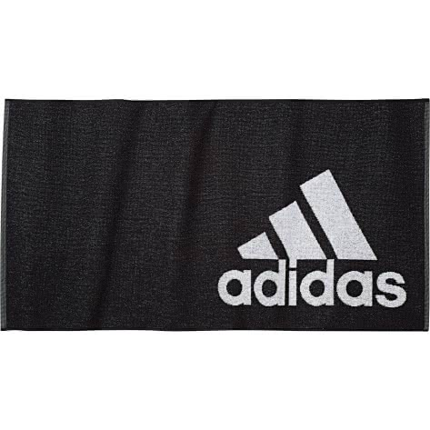 adidas Handtuch Towel S DH2860 black/white | One size