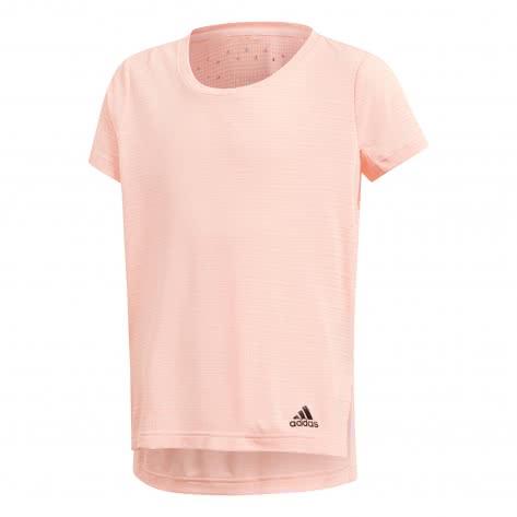 adidas Mädchen Trainingsshirt Climachill Tee clear orange Größe 128,152,164,170