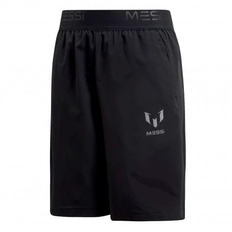 adidas Kinder Woven Short Messi black Größe 110,116,128,152,164