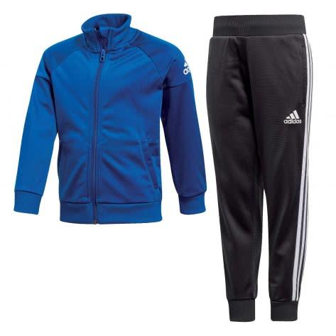 adidas Jungen Trainingsanzug Knitted Track Suit collegiate royal white Größe 104,110,116,128,134,140,92,98