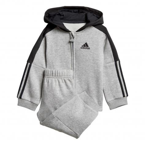 adidas Baby Jogginganzug Logo Full Zip Hooded