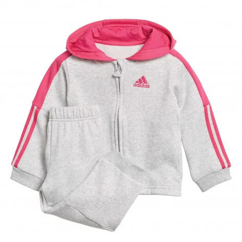adidas Baby Jogginganzug Logo Full Zip Hooded