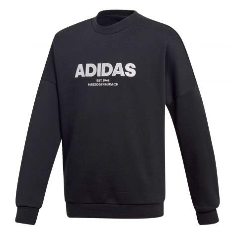 adidas Jungen Sweatshirt ALLCAP CREW black white Größe 110,116,140