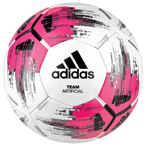 adidas Fussball Team Artificial DM5597 5 WHITE/SHOPNK/BLACK/SI | 5