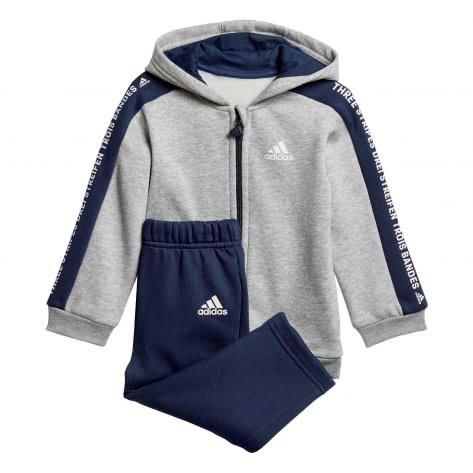 adidas Kleinkinder Trainingsanzug 3S FZ Hooded Jogger