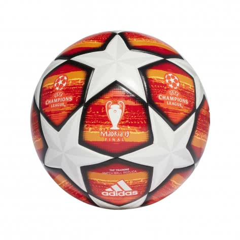 adidas Fussball UCL Finale Madrid 2019 Top Training DN8676 4 white/active red/scarlet/solar red | 4