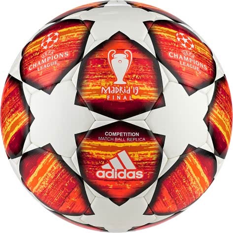 adidas Fussball UCL Finale Madrid 2019 Competition DN8687 4 white/active red/scarlet/solar red | 4