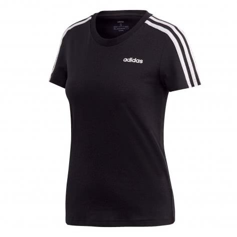 adidas CORE Damen T-Shirt Essentials 3Stripes Slim Tee