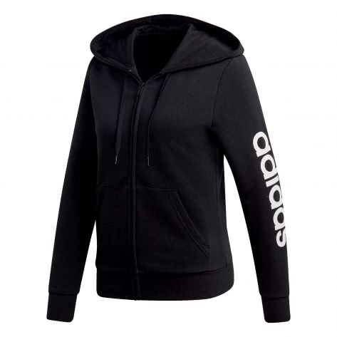 adidas CORE Damen Kapuzenjacke Essentials Linear Full Zip Hoodie