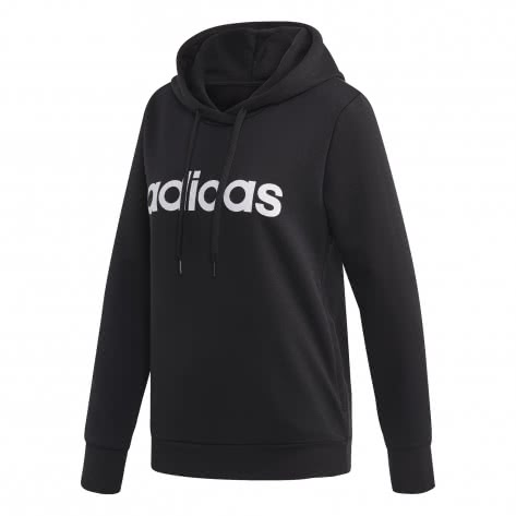adidas Damen Kapuzenpullover Essentials Linear Hoodie