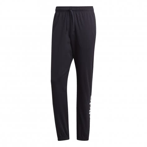 adidas Herren Trainingshose Essentials Linear Tapered Pant Single Jersey
