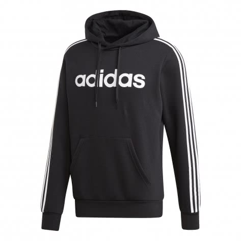 adidas Herren Kapuzenpullover Essentials 3 Stripes Fleece