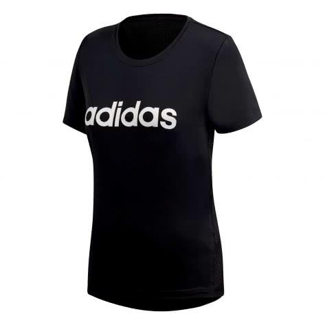 adidas Damen T-Shirt D2M SOLID LOGO TEE