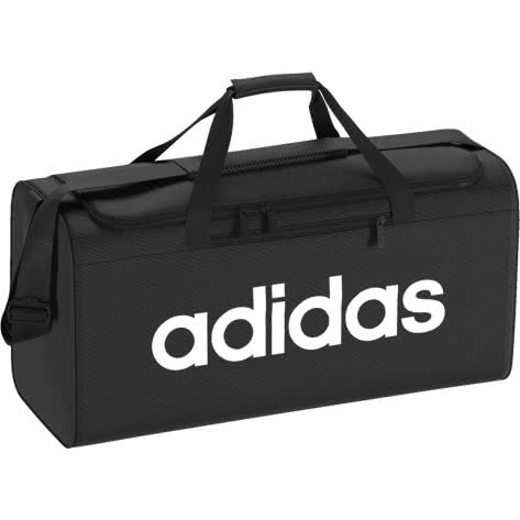 adidas Sporttasche LINEAR CORE DUFFELBAG M DT4819 One size BLACKBLACKWHITE | One size |
