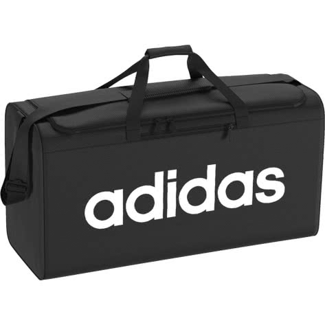 adidas Sporttasche LINEAR CORE DUFFEL BAG L DT4824 One size BLACK/BLACK/WHITE | One size