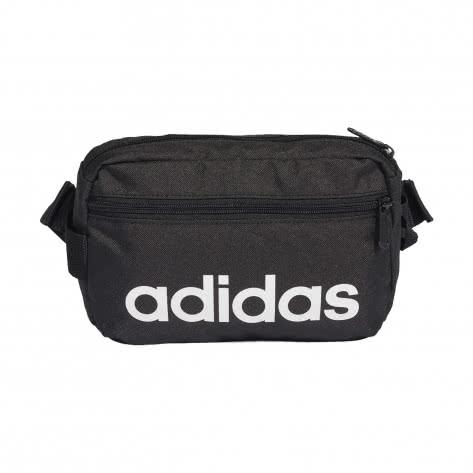 adidas Bauchtasche Linear Core Waistbag DT4827 black/black/white | One size