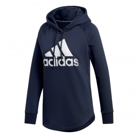 adidas Damen Hoodie Must Haves BOS Over-head DU0015 XS legend ink/white | XS