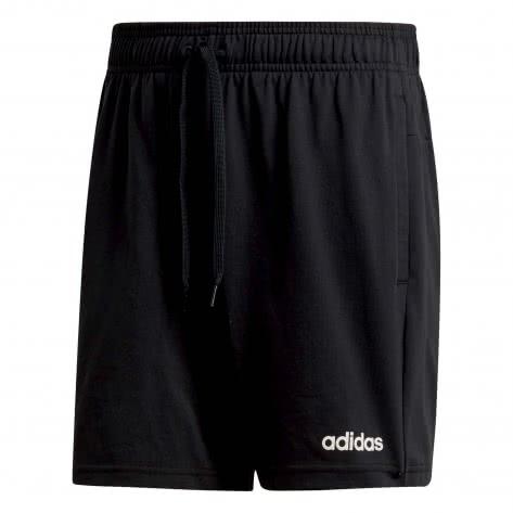 adidas CORE Herren Short Essentials Plain Short Single Jersey DU0393 XS black   XS