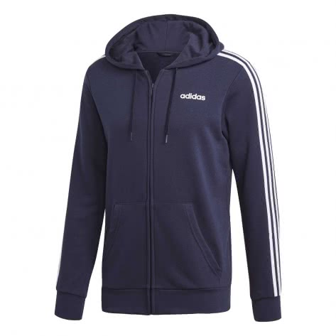 adidas Herren Sweatjacke Essentials 3 Stripes Fullzip French Terry